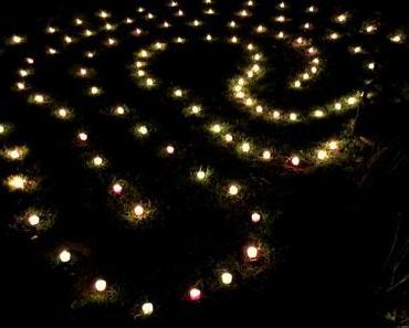 Lichterherz in der Nacht für das Montagsherz #220