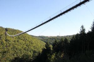 Die längste Hängebrücke Deutschlands