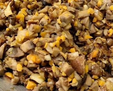 Herbstpasta: Bolognese-Sauce für einmal mit Pilzen