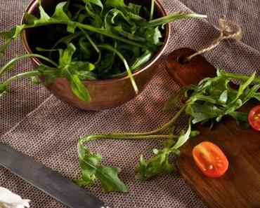 Rucola-Tomaten-Suppe