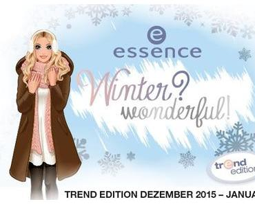 "essence trend edition ""winter? wonderful!"""