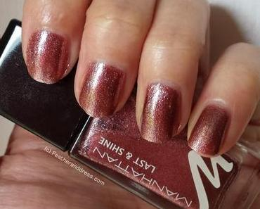 Manhattan Last & Shine Nagellack 530 Party Princess