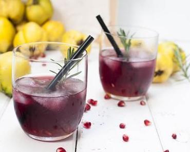 Gin – Quitte - Der rubinrote Drink!