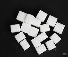 Zucker und Aspartam