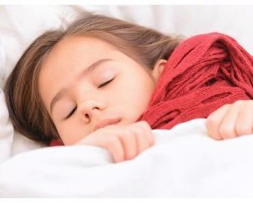 Hals- und Brustwickel verschaffen Kindern bei Erkältungen Linderung