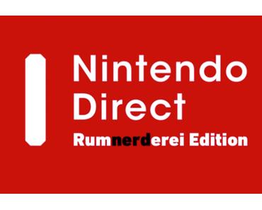 Full Reaction zur Nintendo Direct vom 12.11.2015 – Franke, Bifi und Sam auf dem Hypetrain