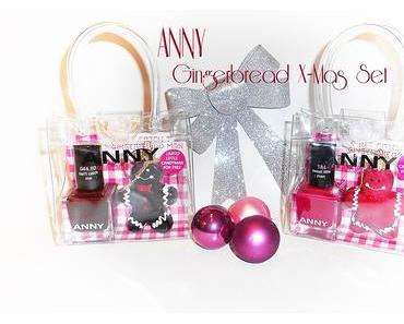 ANNY - X Mas Gingerbread Man Set - Can't catch me &  Sweet little Man