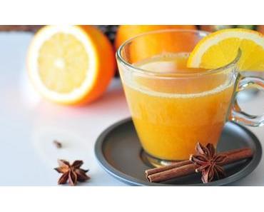 Mandarinen-Punsch fructosearm & Apfel-Orangen-Punsch mit Zimt und Nelken
