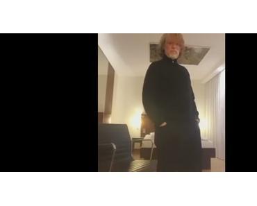 Nach abgesagtem Konzert in Hannover: Helge Schneider Video-Statement auf Facebook