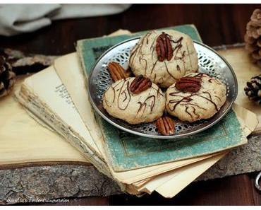 {Werbung} Whiskey-Pecan-Cookies zum Start in die Vorweihnachtszeit
