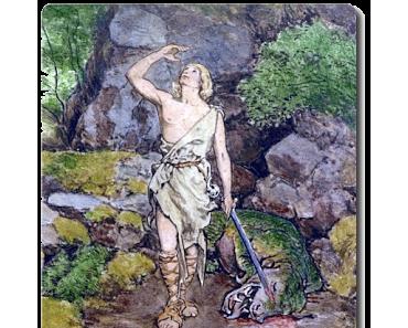 Nibelungensage 2/28 • Wie Siegfried den Drachen erschlug