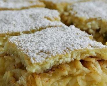 Almás Pite - ungarischer Apfelkuchen