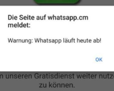 WhatsApp-Abofalle: Käse aus Holland