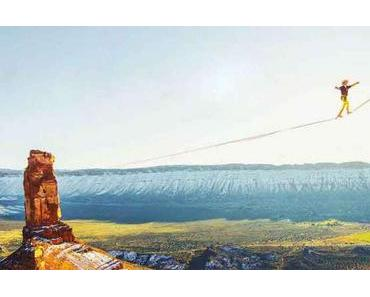 The ecstasy of slacklining – Weltrekord in Utah