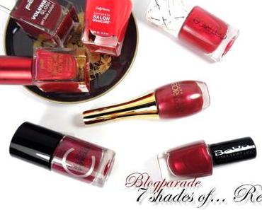 〈 Blogparade 〉 7 shades of… Red!
