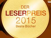 LovelyBooks Leserpreis 2015: Gewinner stehen fest!