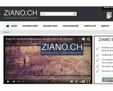 Ziano.ch Gourmet-Box im Abo