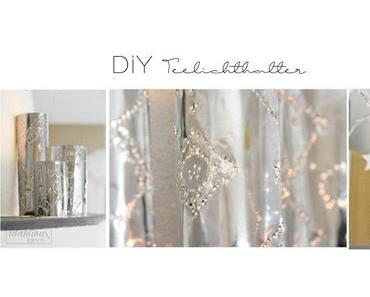 DiY Teelichter Metallic
