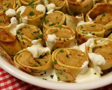 Sauerkraut-Röllchen