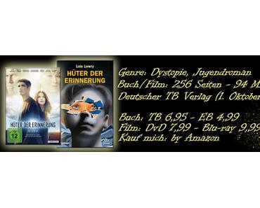 .: Buchrezension vs. Filmkritik ~ Hüter der Erinnerung :.