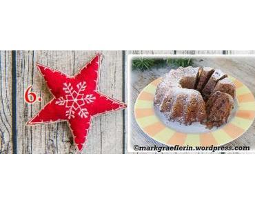 6. Dezember: Kleiner Schoko-Gugelhupf zum 2. Advent