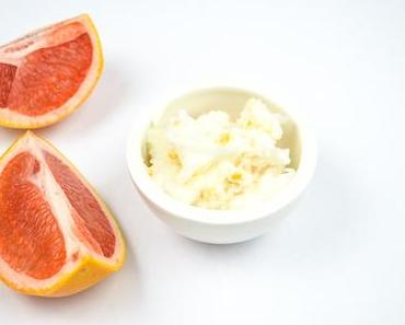 DIY Winterpeeling mit Grapefruit