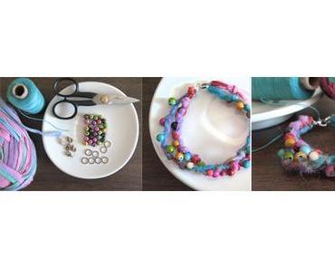 [diy] Armband knoten mit Perlen