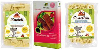 10. Türchen: veganes Schnitzel, Tortellini und Ravioli
