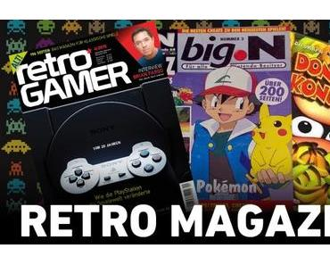 Retro Magazine und Spieleberater damals und heute