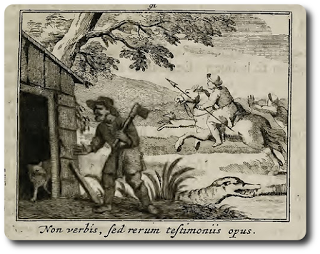 Der Fuchs und der Waldarbeiter • Rechtschaffenheit • Fabel von Aesop
