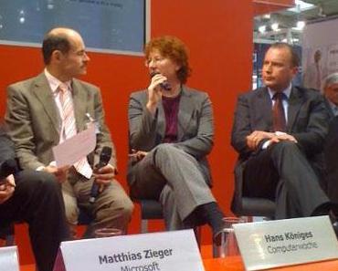 CeBIT-Podiumsgespräch: Jobs im Testmanagement