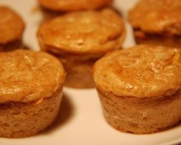 Bananen-Nuss-Mini-Muffins