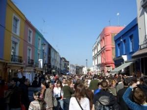 Portobello Road Markt, London