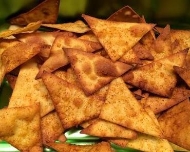 Schneller und feiner Apéro: Hausgemachte Taco-Chips mit Guacamole