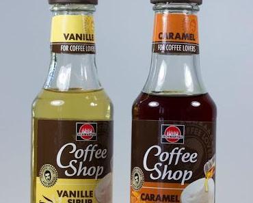Schwartau Coffee Shop Vanille Sirup + Caramel Sirup