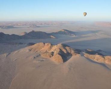 Nadine Hehl und ihre Reise in die Namib