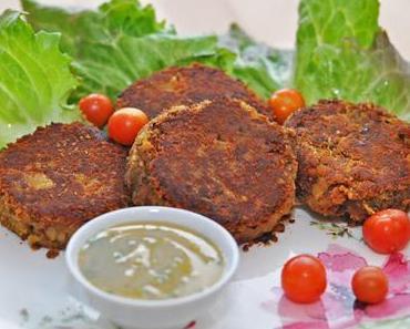 Curry-Bohnen-Laibchen