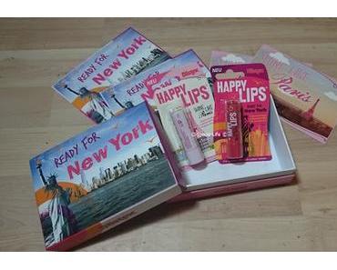 """Blistex Happy Lips """"Ready for NY"""" & """"Shine like Paris"""" Review ♥"""