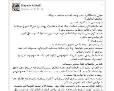 Regierungsgast erster Klasse: Die Islamistin Mayada Alkhalil