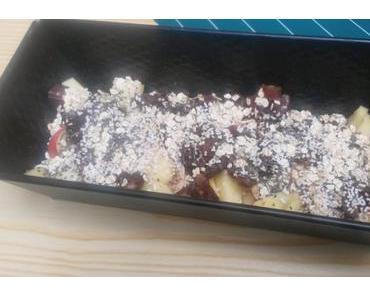 Vegan Breakfast: Haferflocken-Auflauf