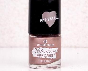 """[NOTD] essence """"Valentine - who cares?"""" nail polish metallic 04 """"love is in the air - don't breathe!""""*"""