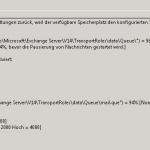 MSEXchangeTransport Event-ID 15006 Fehlermeldung