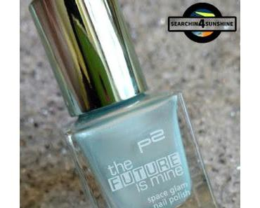 [Nails] Sunday French Nails mit p2 the FUTURE is mine 030 polar light & KIKO Daring Game 05 EXCLUSIVE BLUE