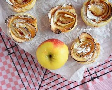 Apfelrosen – Step by Step Rezept