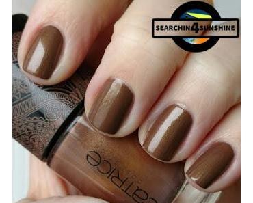[Nails] Lacke in Farbe ... und bunt! BRAUN mit CATRICE BOHEMIA C01 Yes, You Tan!