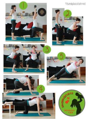 {mamaness} Schwangerschaft Workout #22