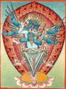Vajrakila – vier Nägel