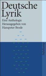 Lesetipp: Deutsche Lyrik
