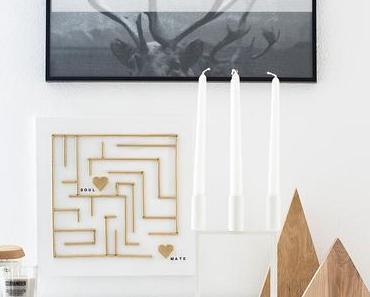 Ein Labyrinth zum Valentinstag