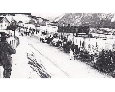 Bild der Woche: Wintersportfest in Mariazell 1913